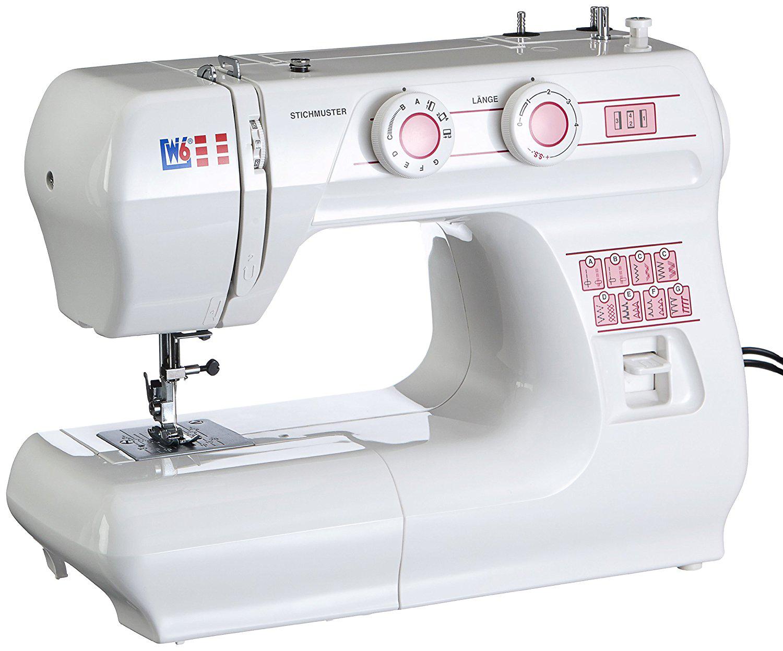 Nähmaschine W6 N 1615 mit Knopflochprogramm