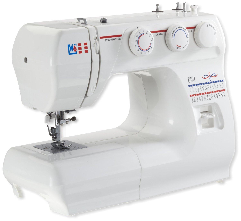 Nähmaschine mit Knopflochprogramm W6 N 1235