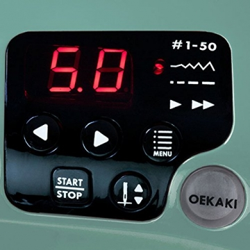 Nähmaschine Display Toyota Oekaki50G