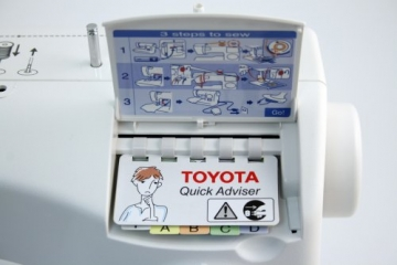 Nähmaschine Toyota SPB15 Bedienungsanleitung