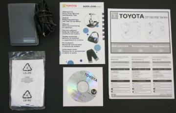 Nähmaschine Toyota Zubehör 26