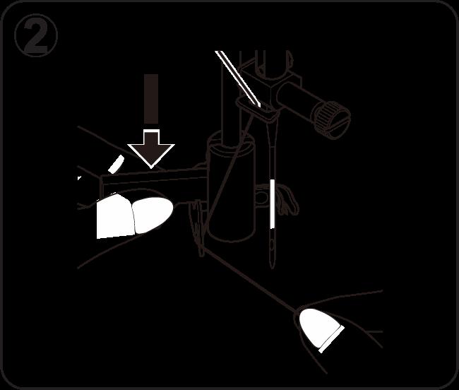 Nähmaschine-Einfädler-Hilfe-Schritt-2