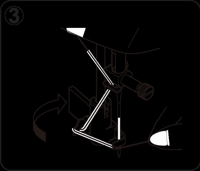 Nähmaschine-Einfädler-Hilfe-Schritt-3