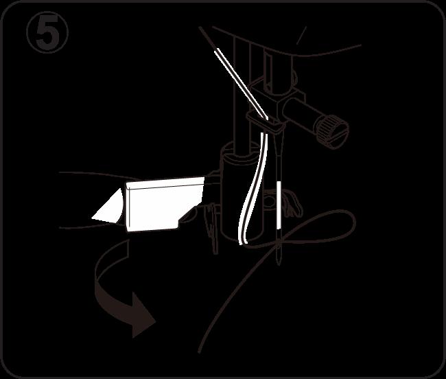 Nähmaschine-Einfädler-Hilfe-Schritt-5