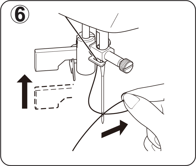Nähmaschine-Einfädler-Hilfe-Schritt-6