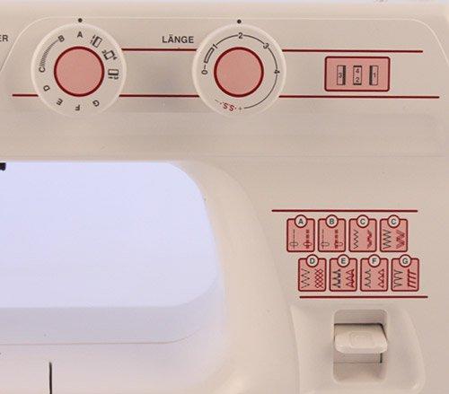 Nähmaschine W6 N1615 Anfänger Tutorial