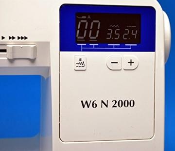 Nähmaschine W6 N 2000 Display