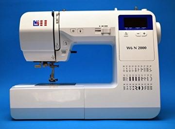 Nähmaschine W6 N 2000 mit Display