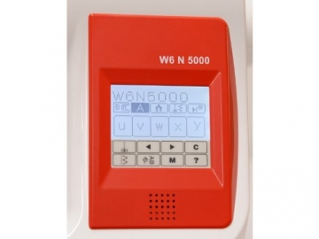 Nähmaschine W6 N 5000 Display